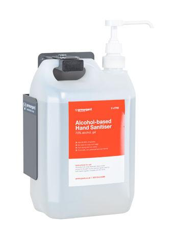 Sanitiser 5L Bottle Holder Wall Bracket