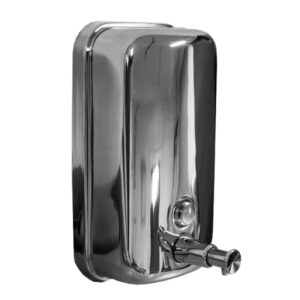 stainless steel sanitiser dispenser
