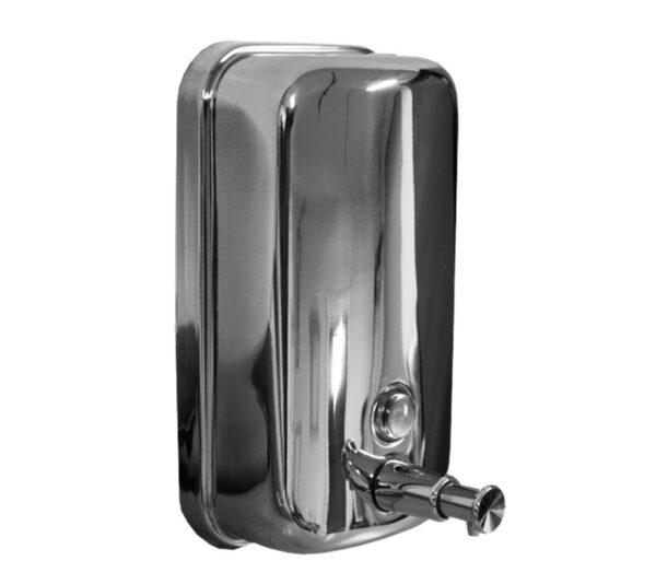 stainless steel sanitiser dispenser