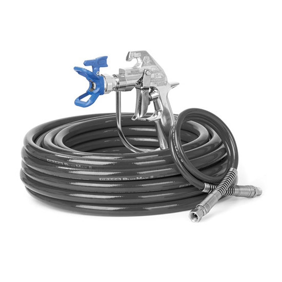 spray gun and flexible hose kit
