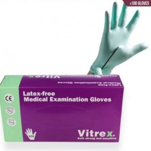 powder free medical examination gloves