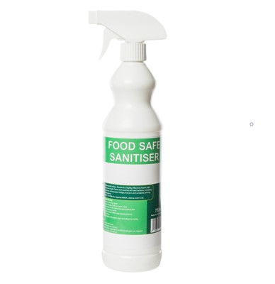 foodsafe surface sanitiser